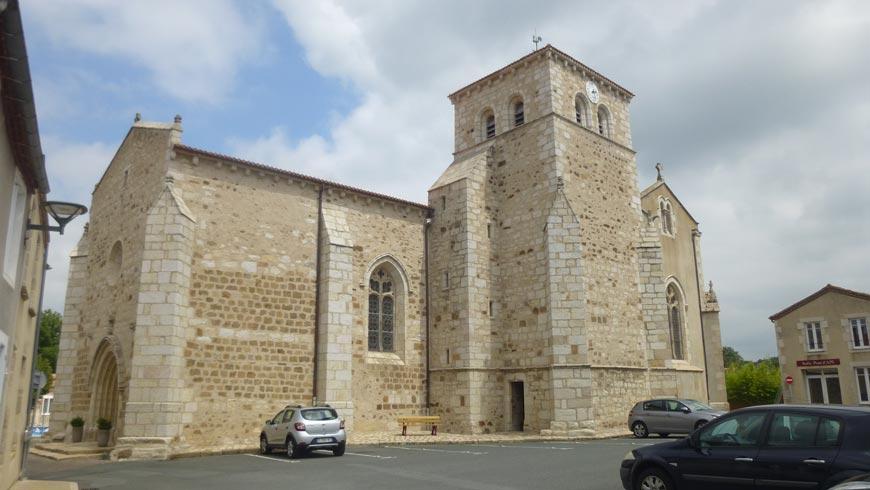 Eglise Saint-Martin de la Pommeraie sur Sèvre