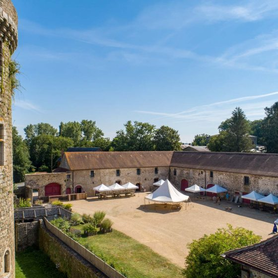 Le château de Saint-Mesmin en Vendée