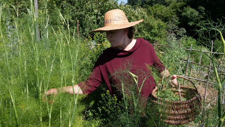 Cueillette jardin Elodie Texier