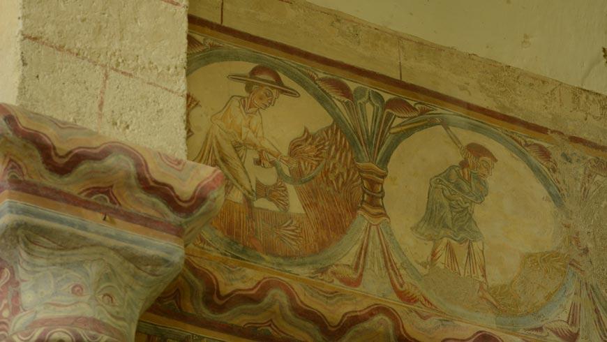 Détail des peintures murales