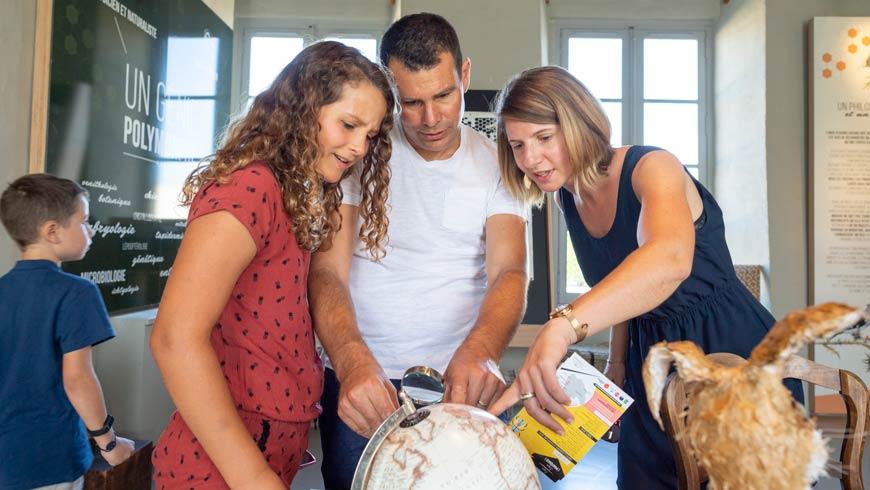 Activité en famille au Manoir des Sciences