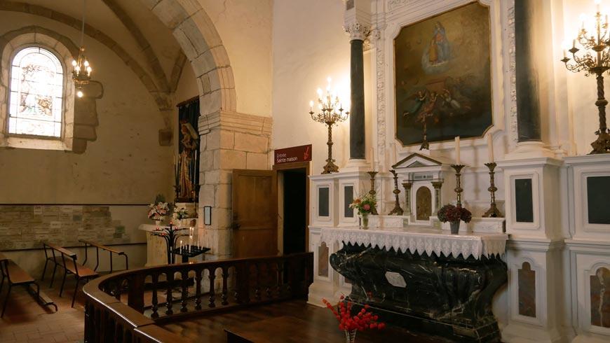 Autel de la Chapelle de Lorette
