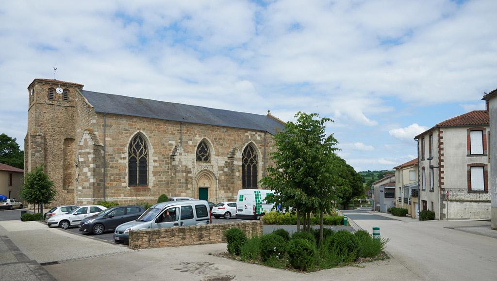 L'église Notre-Dame à Montournais
