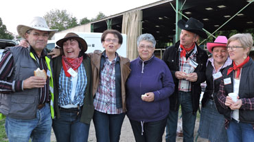 Equipe bénévole au lancement de la saison touristique