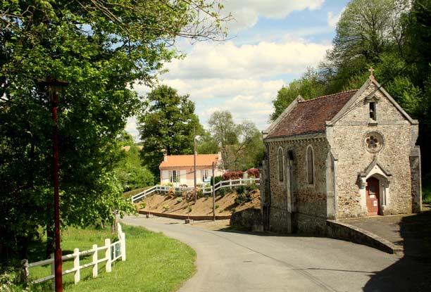 Visite guidée bourg de Réaumur