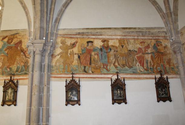 Peintures murales sur les 7 Septs Péchés Capitaux