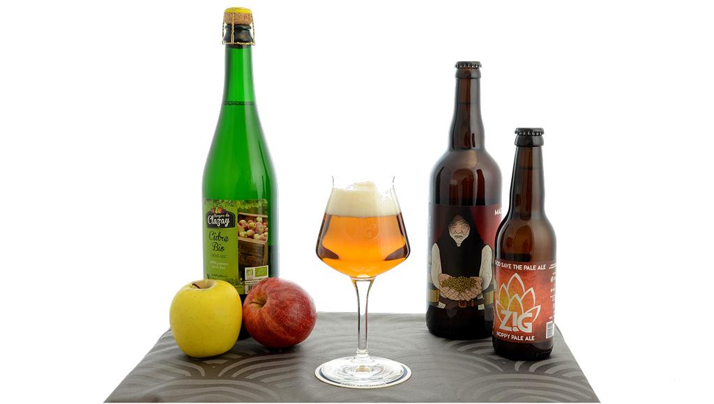 Bière et bulles
