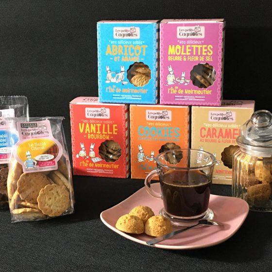 Pause café avec les biscuits de Noirmoutier