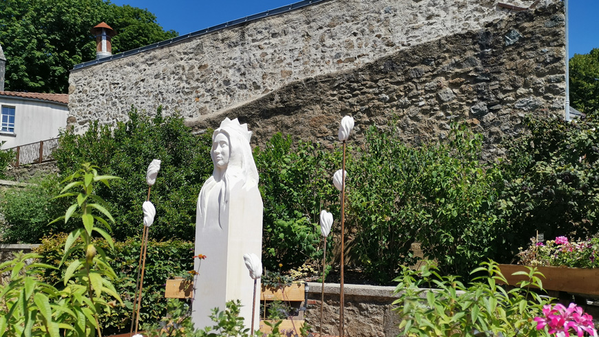 Festival Art jardin ville pouzauges