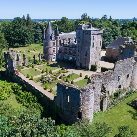Jardin historique du château de a flocellière