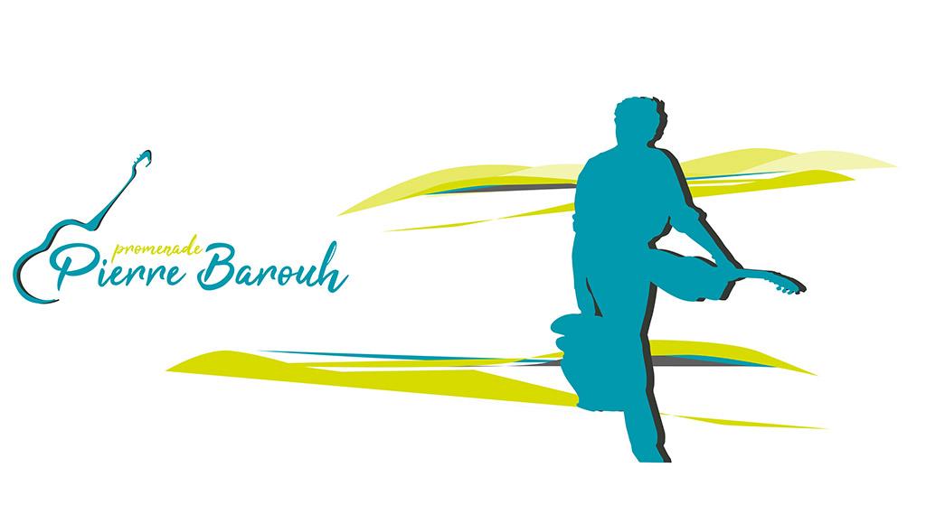 Logo promenade Pierre Barouh