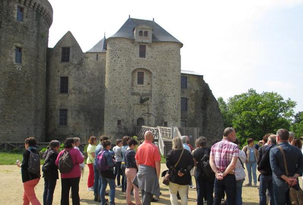 Visite groupe Château de Saint-Mesmin