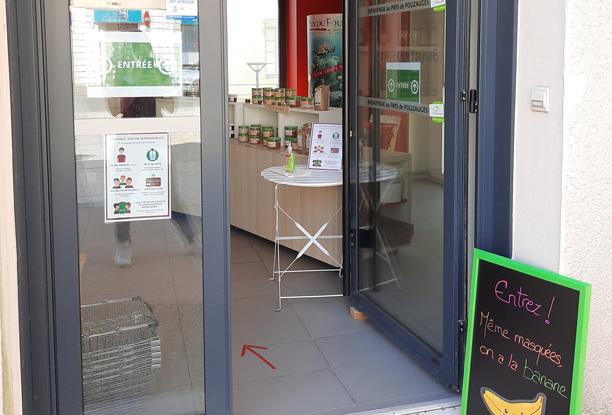 Accueil covid19 office tourisme