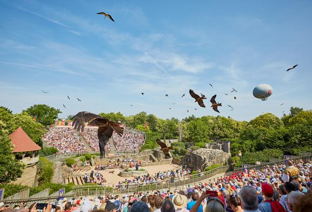 Spectacle bal des oiseaux fantomes Puy du Fou