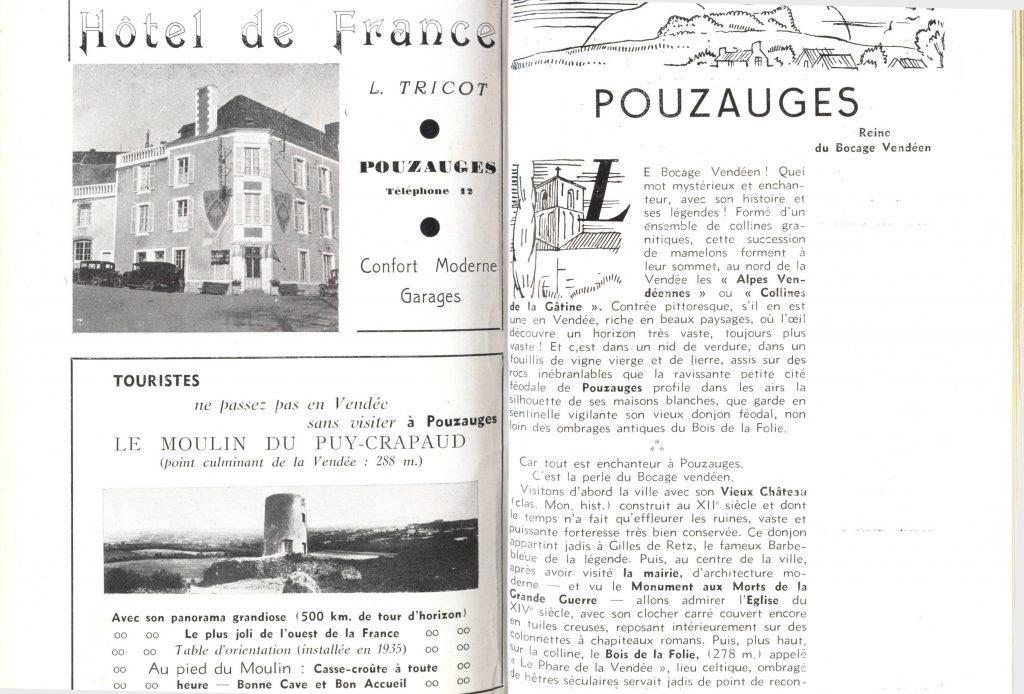 Guide Vendée 1935