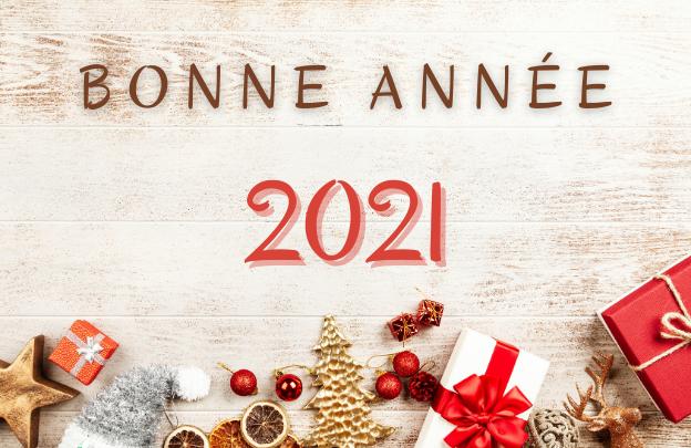 Bonne année 2021