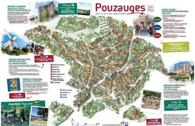 Plan 2021 de Pouzauges